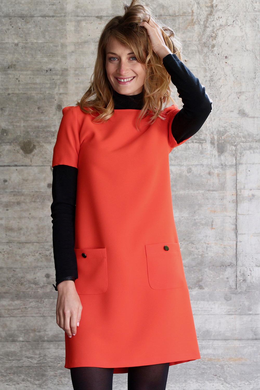 Kleider orange
